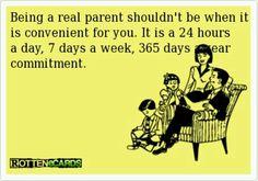 Real parent!