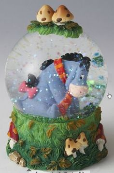 Disney Eeyore Autumn Snowglobe! I love snow globes they are so neat!