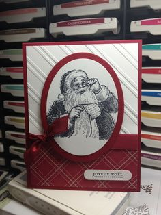 Stampin up - Santa's List. Great for a card class. Dear Samta, AKA @Jimi Ji McConnel , I want this stamp.