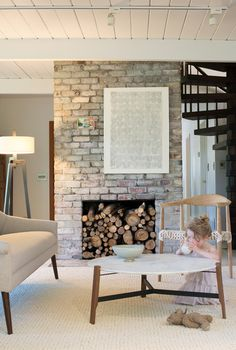 The Treehouse Living Room   |   Design Mom