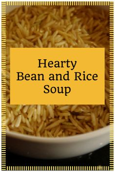 Hearty Bean and Rice
