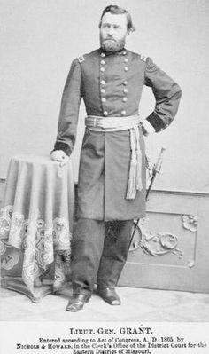 Ulysses S. Grant in uniform