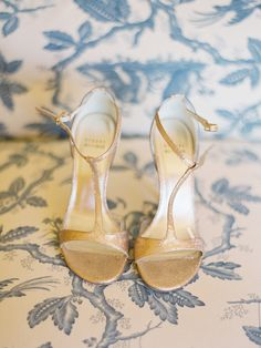 Shoes: Stuart Weitzman || See the wedding on SMP: http://www.StyleMePretty.com/2014/02/19/classic-santa-barbara-wedding-at-apple-creek-ranch/ Photography: Lane Dittoe