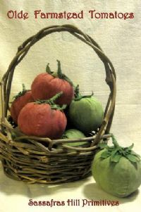 Primitive Craft Patterns - GARDEN - Primitive Epatterns, Patterns, and Handcrafted Folkart by Sassafras Hill Primitives
