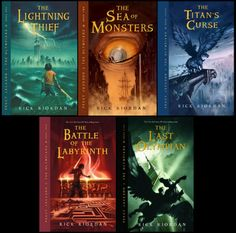 love Rick Riordan books