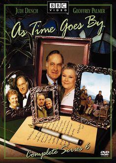 As time goes by.  BBC sitcom 1992-2005 starring Judi Dench & Geoffrey Palmer.