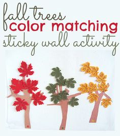 cute idea for color matching / sorting .