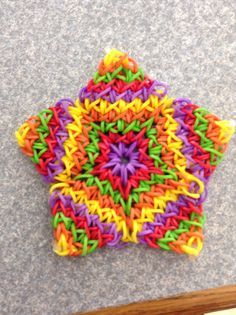 How to: Rainbow Loom Super Flower