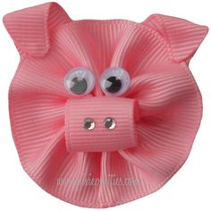 Piggy Ribbon Sculpture