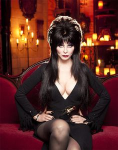 """Elvira, Mistress of the Dark - Cassandra Peterson was just another struggling actress during the 1970s but she put the """"vamp"""" in vampire and introduced horror movies on a Los Angeles television station And over time has made Elvira a household name"""