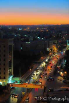 """""""Amman's aura"""" Amman, Jordan"""