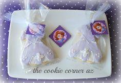 Sophia the First cookies