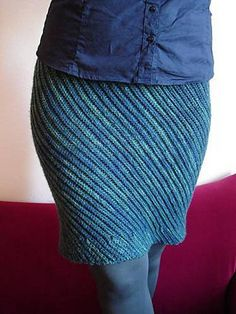 The free crochet pattern for this Slanted Skirt by Tanja Osswald can be worked in a variety of different stitches; the one shown here was worked in BLO slip stitch crochet. skirt patterns, stitch crochet, long skirts, pencil skirts, slip stitch, crochet skirts, crochet pattern