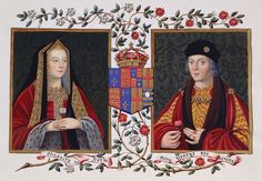 Double Portrait of Elizabeth of York and Henry VII, c. 1825.