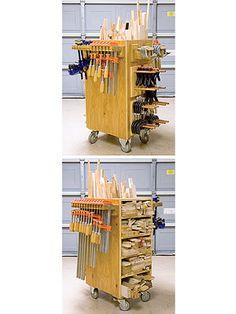 Scrap Sorter/clamp rack