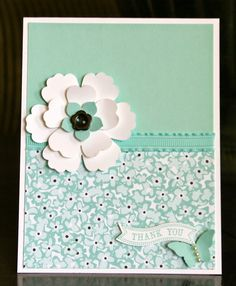 Stampin' Up! Card by Krystal's Cards and More: Online Thank You