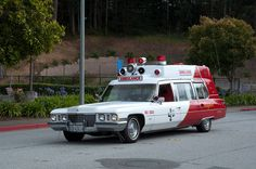 Bayshore 1973 Cadillac Meteor Miller ambulance in Colma