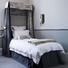 Gray bedroom love