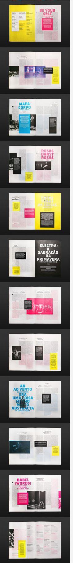 #magazine #print #editorial #design