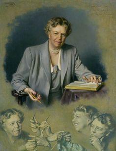 Douglas Granville Chandor - Eleanor Roosevelt White House Portrait, 1949