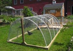 Looks portable and affordable to construct. chicken coop run Standish Maine