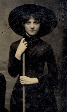 Vintage Witch, circa 1875