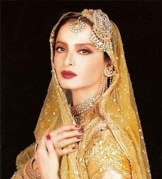 Rekha, famous Indian model and actress