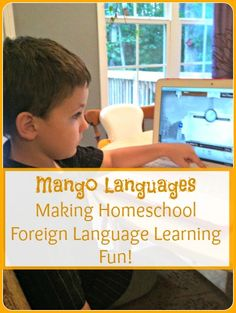 Use Mango Languages for foreign-language learning in your homeschool! It's easy, fun, and even has an app so learning can happen everywhere!