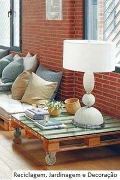 Huacales y tarimas del amor on pinterest mesas pallet for Muebles de jardin con tarimas