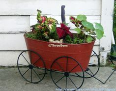 Fine Art Photo Flowers and Cart Wall Picture Flower by threegens, $26.50