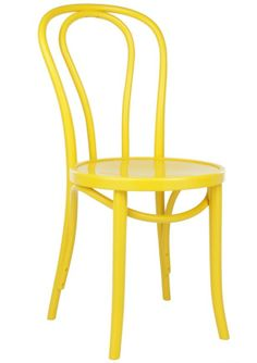 Replica Thonet No 18 Bentwood Chair Timber - Yellow