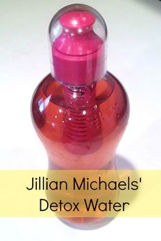 Jillian Michaels' Detox Water - Get rid of your bloat and water weight!