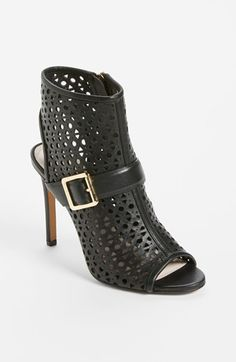 Vince Camuto 'Kaleen' Black Leather Bootie for the Modern Gladiator #Nordstrom