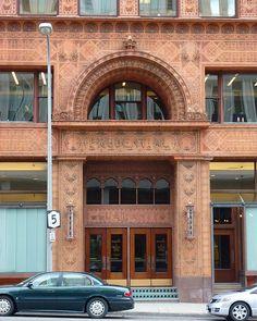 Buffalo, NY Guaranty Building entrance