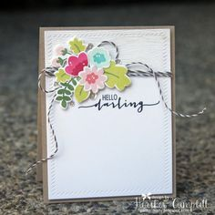 Gorgeous card on the Simon Says Stamp Blog by Heather Campbell using Avery Elle. Stamptember 2014