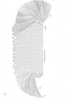 Crochê Fascínio: Tapete de crochê oval... oval crochet, crochet doili, el crochet, croche grafico, favorit hobbi
