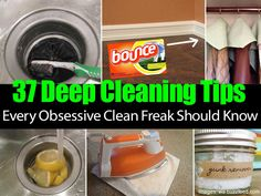 If you are dedicated to knowing the best way to clean every single item in your house, you should really take a look at this buzzfeed list. From brooms to drains, to the corners of your house they have compiled a bunch of tips to get your house so clean there will be nothing left … hous