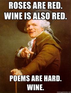 Poems are hard...bahahaha