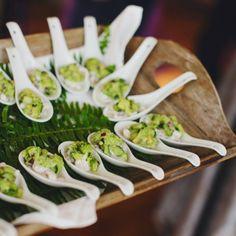 idea, weddings, guacamole, wedding photos, spoon, appetizers, guacamol appet, cocktails, avocado appet