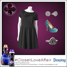 This Alluring Adventurer look was inspired by Downy Infusions Orchid Allure and Downy Unstopables Lush. The pop of color from this fabulous heel will keep you inspired through every step of your day. To shop this look, visit the LC Lauren Conrad collection available only at Kohl's. To register for the #ClosetLoveAffair sweepstakes visit https://downy.promo.eprize.com/pinterest/.