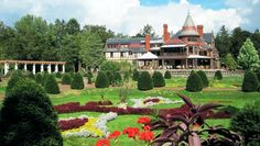 Sonnenberg Gardens and Mansion, Canandaigua, NY via Finger Lakes Travel Maven