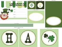 St. Patrick's Day Party Collection Printable