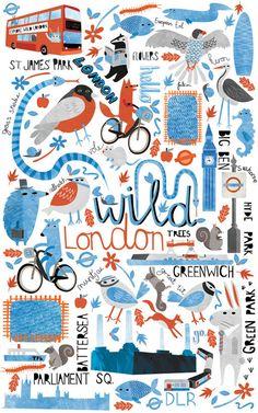 London Transport Museum showcases illustrations of 'Secret London' - News - Digital Arts