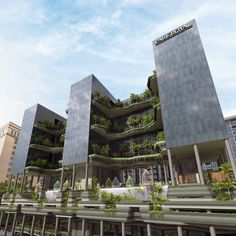 Redefining Urban Hospitality at PARKROYAL on Pickering in Singapore by WOHA Architects