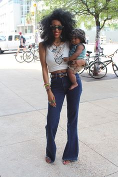This Natural Mama is TOO Fly!!!