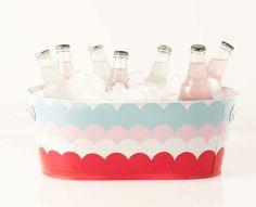 DIY Summer beverage ice bucket