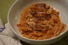 Portabella Pasta Featuring Shirataki Spaghetti from Food Ramblings!