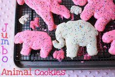 Jumbo animal cookies!