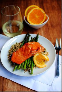 Maple Grilled Salmon