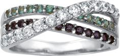 I would love this with each row one of my daughters birthstones.